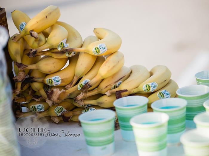 bananas... gatorade