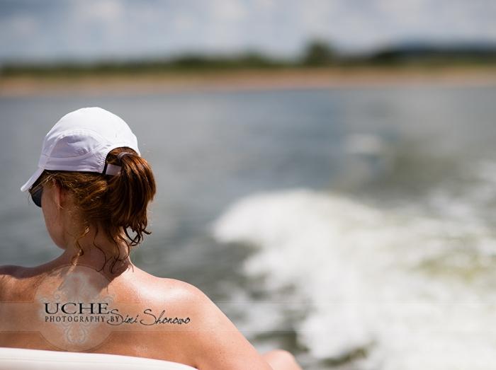 leaving shore